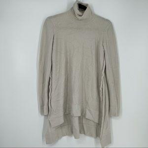 Urban Zen Silk Cashmere Side Cutout Sweater